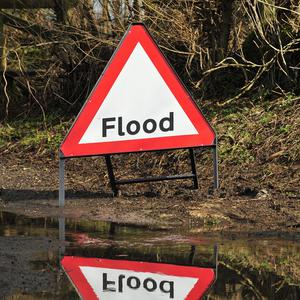 Flooding has left parts of south and east Belfast under water