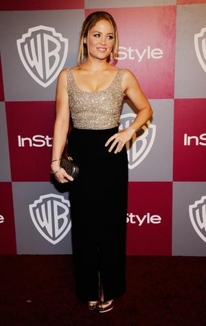 BEVERLY HILLS, CA - JANUARY 16:  Actress Erica Christiansen arrives at the 2011 InStyle And Warner Bros. 68th Annual Golden Globe Awards post-party held at The Beverly Hilton hotel on January 16, 2011 in Beverly Hills, California.  (Photo by Kevork Djansezian/Getty Images)