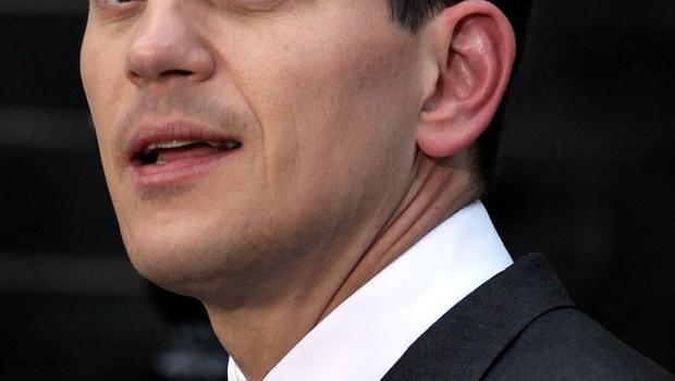 Foreign Secretary David Miliband leaves Downing Street on May 10, 2010 in London, England.