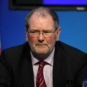 John Corrigan played down the prospects of Ireland seeking a second bailout