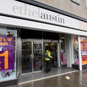 A fashion chain formed following last year's collapse of Ethel Austin has been forced to shut 12 stores