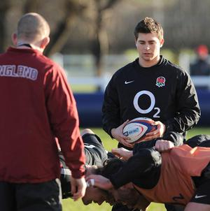 Ben Youngs injured his shoulder in the second Test against South Africa