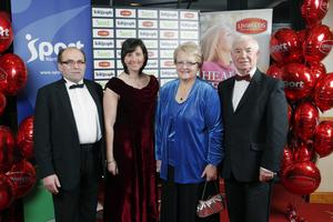 John Palmer, Yvonne Craig, Margaret Tollerton and Ivan Davis from Lisburn City Council