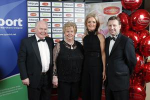 Brendan Gallagher, Rosaleen Gallagher, Catherine Maguire and John Maguire