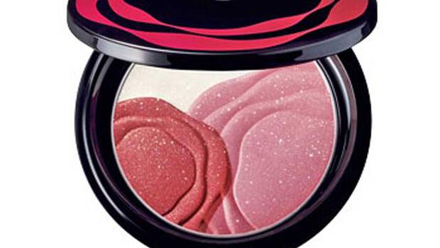 1. Rosy pink camellia compact by Shiseido, £32, House of Fraser