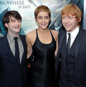 Daniel Radcliffe, Emma Watson and Rupert Grint's latest Harry Potter film has pulled in record audiences in its US opening weekend