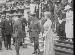 George V with Queen Mary visiting Ireland in 1911, the last reigning monarchs to visit.Queen Victoria visiting Dublin in 1900