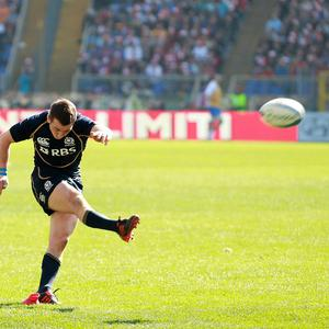 Greig Laidlaw held his nerve to kick the winning points