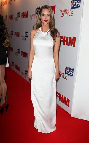 LONDON, ENGLAND - MAY 01:  Jessica Jane Clement attends a party to celebrate FHM's annual poll of the 100 Sexiest Women in the World at Proud Bank on May 1, 2012 in London, England.  (Photo by Tim Whitby/Getty Images)
