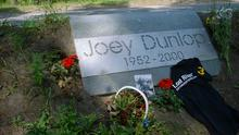 The Joey Dunlop memorial in Talinn, the final destination for The Lost Riders, the group of fans who followed a journey made by their hero