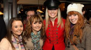 Coca-Cola Designated Driver Chaufferette with Caoimhe Megraw, Orla Megraw and Jenny Smith at Laverys, Belfast