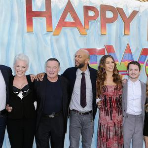 Elijah Wood said it was a rare treat to work with the whole cast of Happy Feet 2
