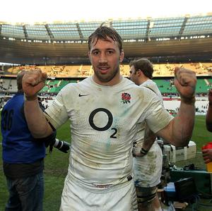 Hooker Dylan Hartley will replace Chris Robshaw (pictured) as captain for Saturday's test