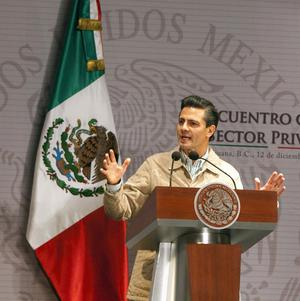 Mexico's President Enrique Pena Nieto wants to focus on reducing crimes against ordinary citizens (AP/Alex Cossio)