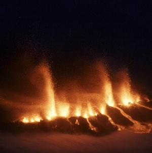 The Icelandic volcano is settling down, scientists have said