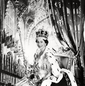 File photo dated 02/06/1953 of Britain's Queen Elizabeth II on Coronation Day.