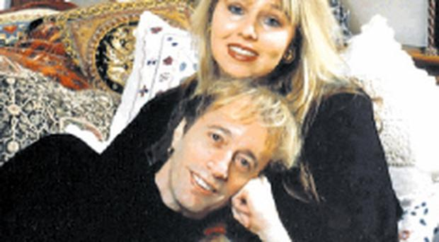 Dwina Murphy married Bee Gee Robin Gibb in July 1985