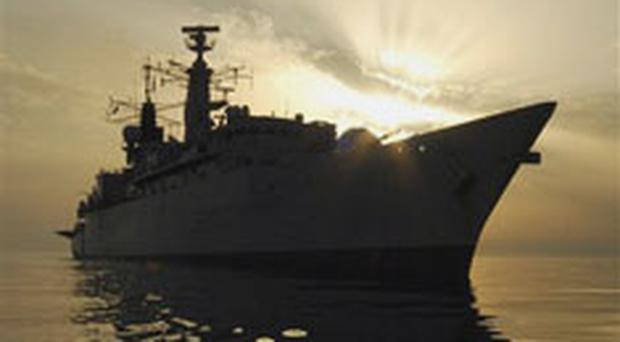 The Iranian navy detained up to 15 British troops Friday in the Persian Gulf, according to defence officials.