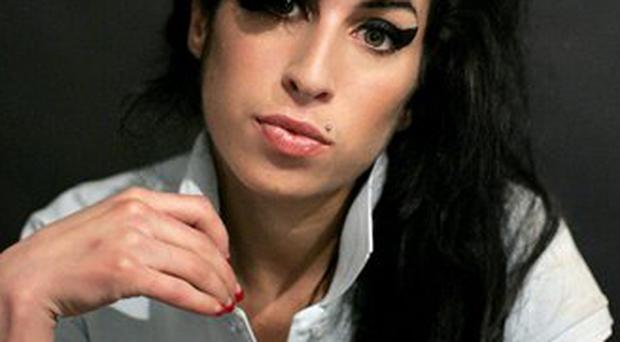 Amy Winehouse was admitted to hospital suffering