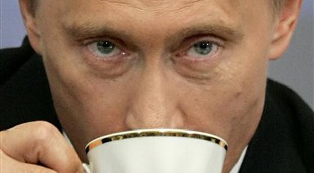 Vladimir Putin says Litvinenko had been fired from the FSB for beating up detainees and stealing explosives
