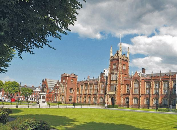 'Extension of Seanad electorate is chance to include northern voters at Queen's University (pictured) and University of Ulster'