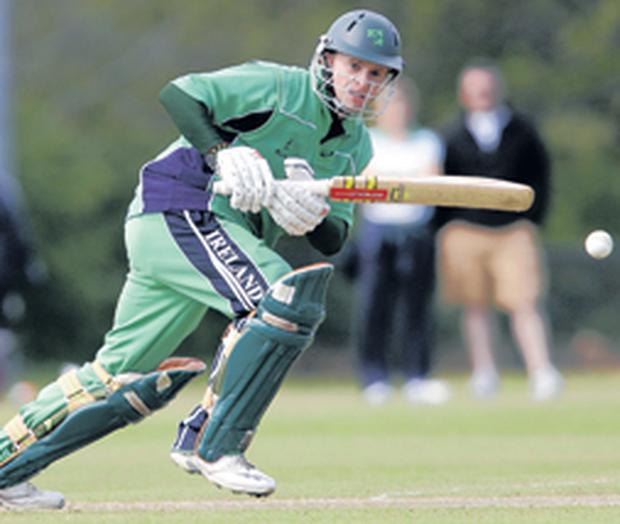 William Porterfield rose to the occasion yesterday with a majestic innings that has put Ireland in pole position