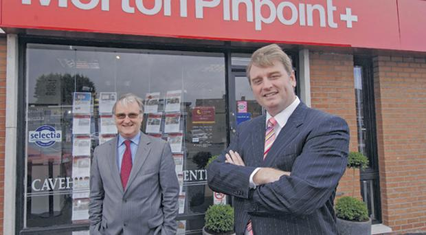 Colin Barkley (left) and Nick Brennan have combined their expertise to launch the Morton Pinpoint estate agency in Belfast. They have over 40 years' experience between them