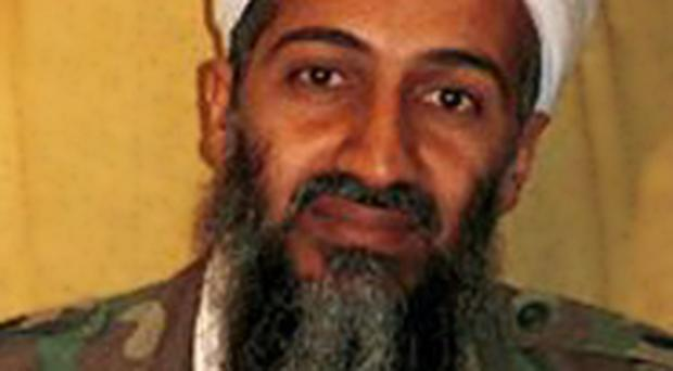 Photo apparently showing Osama bin Laden