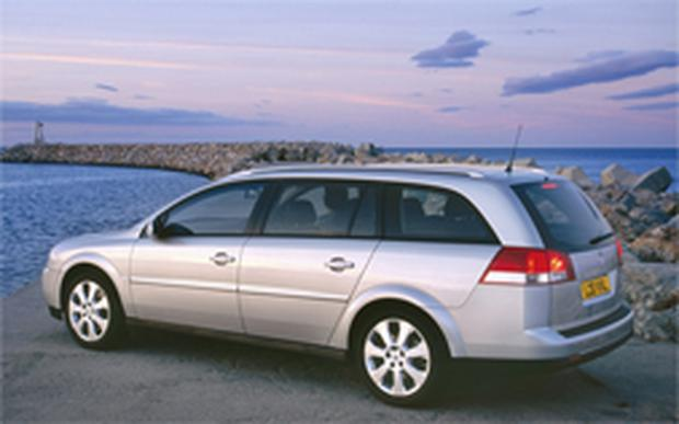 Safe pair of hands: when an expanding family calls for more space, a Vauxhall Vectra estate is ideal