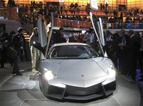 Conception and reality: the Lamborghini Reventon was among the new cars revealed this year in Frankfurt