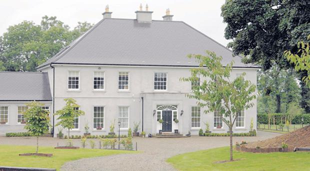 Magnificent manor: no shortage of space here