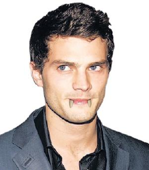 How Ulster actor Jamie Dornan might look as a Hammer vampire