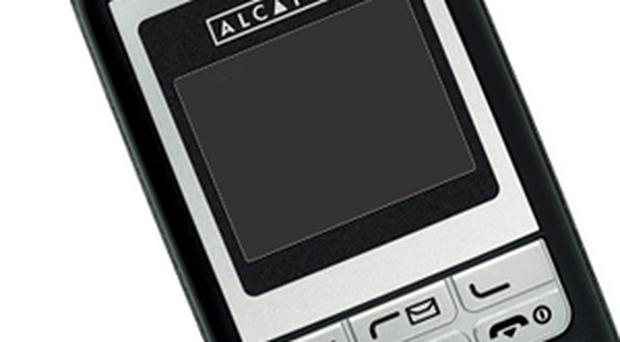 The Alcatel OT-E 201 is available at £8 from Woolworths