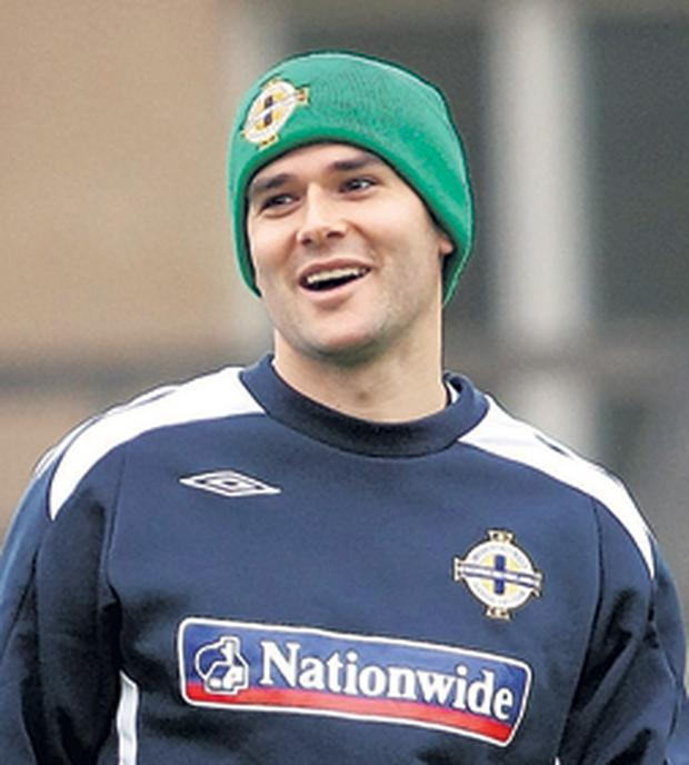 Northern Ireland's David Healy hopes to have the last laugh on Sweden