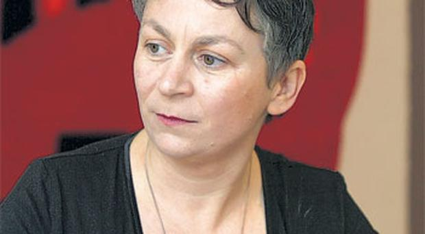This year's Booker winner, Anne Enright