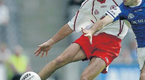 Barry Collins is a major injury doubt for Dromore on Sunday