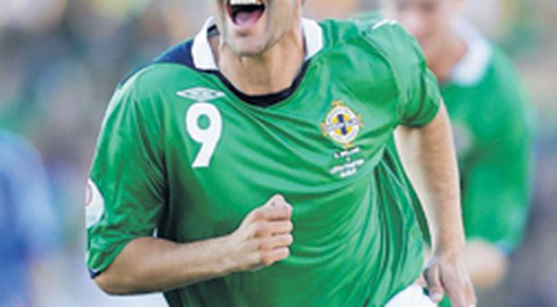 David Healy wants another big performance from the Northern Ireland team