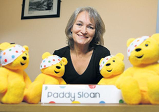 Surrounded by Pudseys - Paddy Sloan prepares for Children In Need