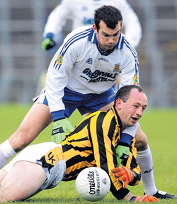 The experience and power of the suspended John Donaldson looks certain to badly missed by Crossmaglen Rangers when they meet Dromore on sunday