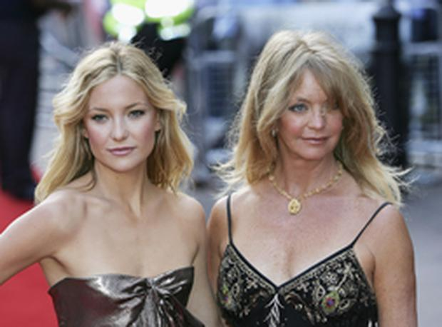 Mummy dearest - Kate Hudson with Goldie Hawn