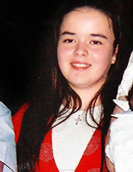 Posthumous award: Caroline McEnhill (13) called the Fire and Rescue Service on her mobile phone