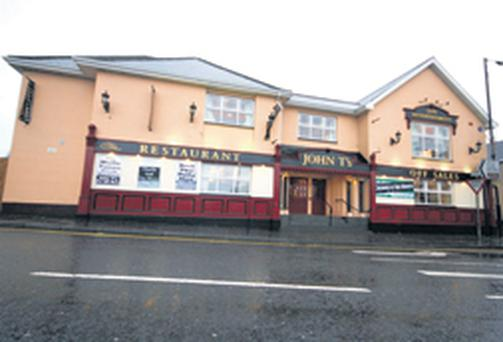 The Dungiven pub where up to 30 people were involved in a mass brawl at the weekend