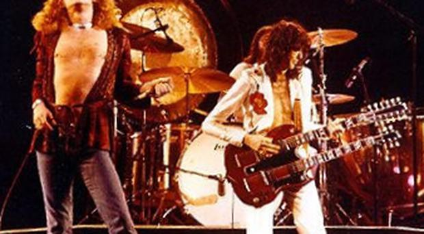 Led Zeppelin in their Seventies heyday