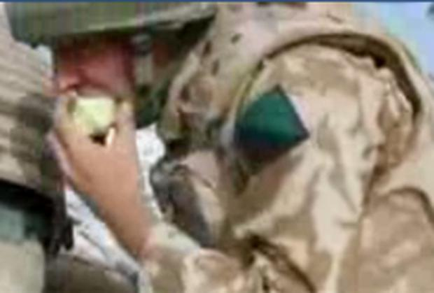 An apple a day helps keep the Taliban at bay