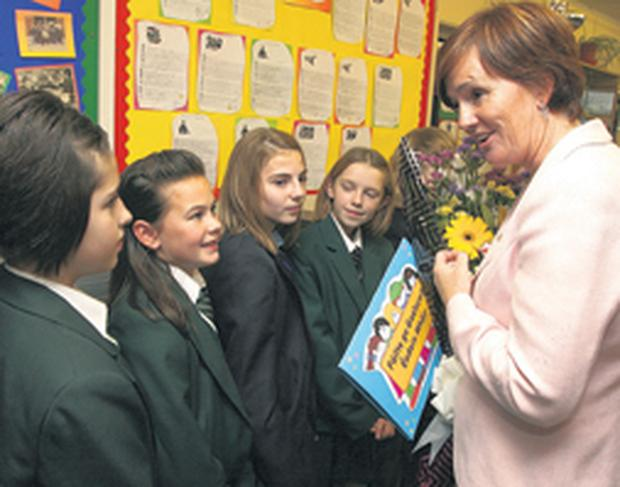 The future in her hands ... Education Minister Caitriona Ruane's plans will impact on every child