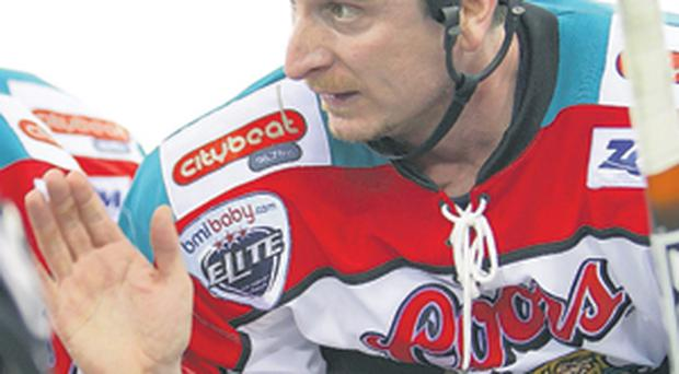 Ed Courteney, head coach of the Belfast Giants, has laid down the law to his players at this crucial stage