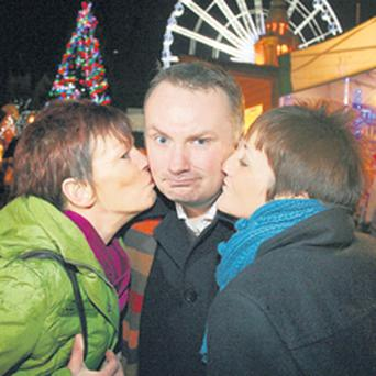 Kiss 'n' tell - anything can happen on Stephen Nolan's Christmas Special