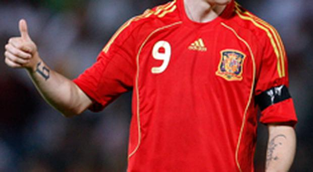 After a successful season in the Premiership with Liverpool, Spain will be expecting a big performance from Fernando Torres at Euro 2008<br /> <a href=