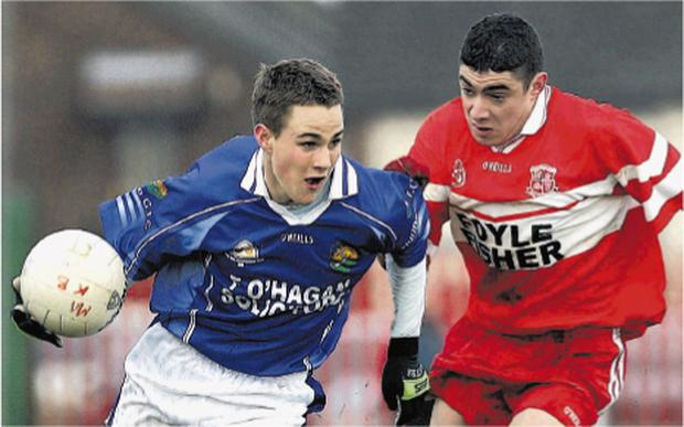 Dermot Thornton is one of the Ulster stars in line for a place in the Ulster Club Minor Tournament Allstars team