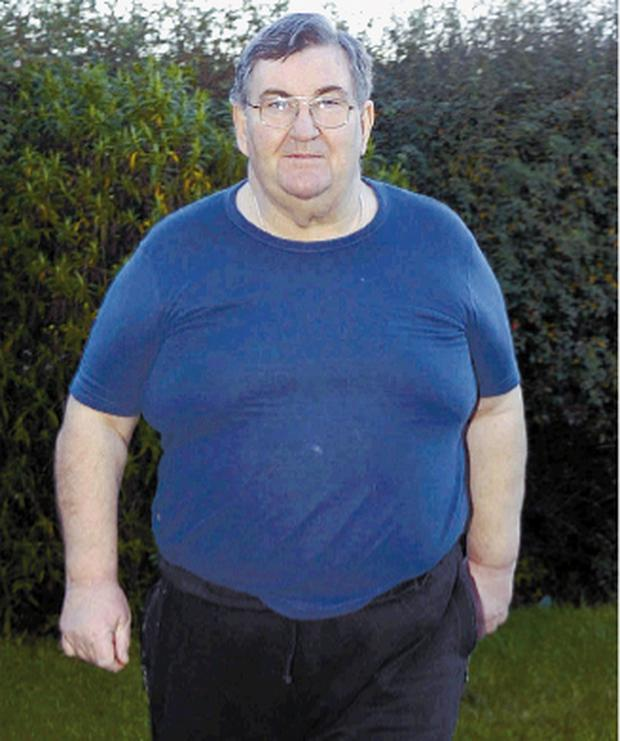 Kevin Mailey on his way to losing 10 stone in aid of the NSPCC